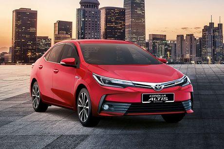 Can canh Toyota Corolla Altis 2.0V 2017 gia hon 700 trieu tai Malaysia - Anh 2