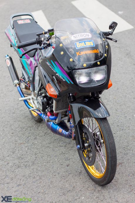 Cận cảnh Kawasaki Kips 150R độ cực đẹp tại Sài Gòn