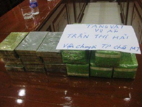 Thanh Hoa: Thu giu 15 banh heroin cung 5kg ma tuy da - Anh 1