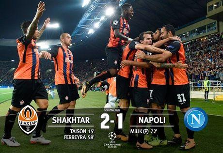 Shakhtar Donetsk 2-1 Napoli: Sa lay tren dat Ukraina - Anh 13