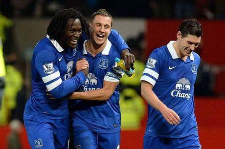 Thanh tich M.U so voi Everton nhu the nao trong 10 tran gan nhat? - Anh 2