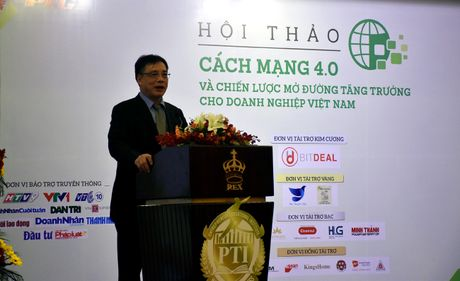 TPHCM: Hoi thao 'Cach mang 4.0 va chien luoc mo duong cho doanh nghiep Viet Nam' - Anh 2
