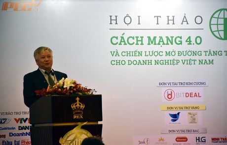 TPHCM: Hoi thao 'Cach mang 4.0 va chien luoc mo duong cho doanh nghiep Viet Nam' - Anh 3