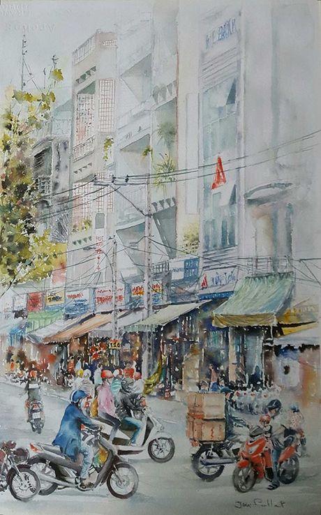 Hoa si Phap trien lam tranh ve Viet Nam tai bao tang que nha - Anh 12