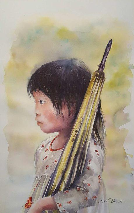 Hoa si Phap trien lam tranh ve Viet Nam tai bao tang que nha - Anh 13