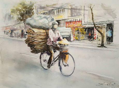 Hoa si Phap trien lam tranh ve Viet Nam tai bao tang que nha - Anh 14