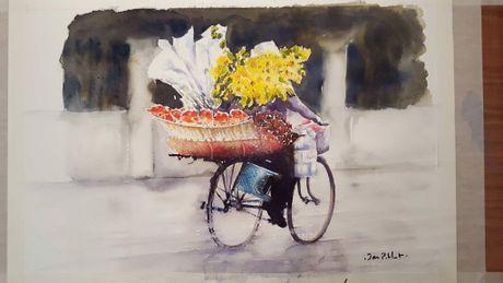 Hoa si Phap trien lam tranh ve Viet Nam tai bao tang que nha - Anh 15
