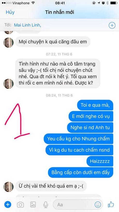 Vo Xuan Bac bat ngo tung bang chung chung minh su chen ep cua NSND Anh Tu - Anh 4