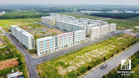 Toan canh khu can ho 30m2 co gia 100 trieu o Binh Duong va giac mo nha 100 trieu o TP.HCM - Anh 3