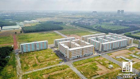 Toan canh khu can ho 30m2 co gia 100 trieu o Binh Duong va giac mo nha 100 trieu o TP.HCM - Anh 5