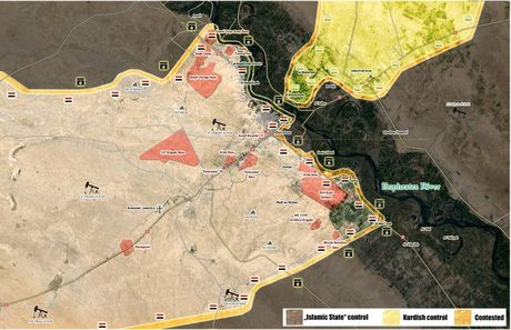 Nguoi Kurd de danh quan doi Syria tai Deir Ezzor, IS 'vo' chong cu - Anh 1