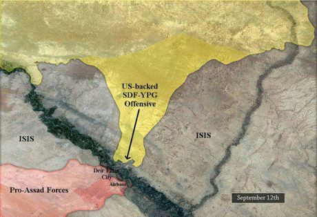 Nguoi Kurd de danh quan doi Syria tai Deir Ezzor, IS 'vo' chong cu - Anh 2