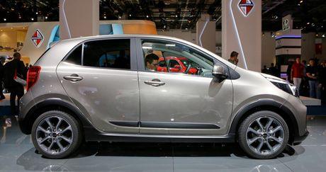Ra mắt Kia Picanto X-Line với động cơ Turbo