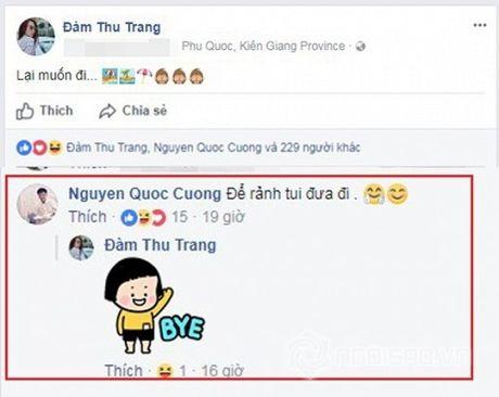 Cuong Do La - Dam Thu Trang cong khai trang thai 'Da dinh hon' sau nhieu lan 'tha thinh' tren mang xa hoi - Anh 5
