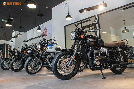 môtô 'đồ lót' triumph chính hãng giá từ 310 triệu tại vn - báo