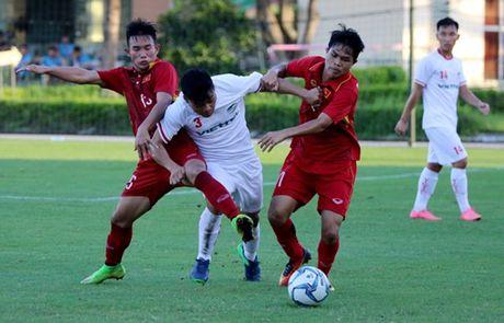 U19 Viet Nam xuat sac cam hoa U21 Viettel - Anh 1