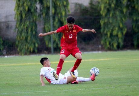 U19 Viet Nam xuat sac cam hoa U21 Viettel - Anh 2