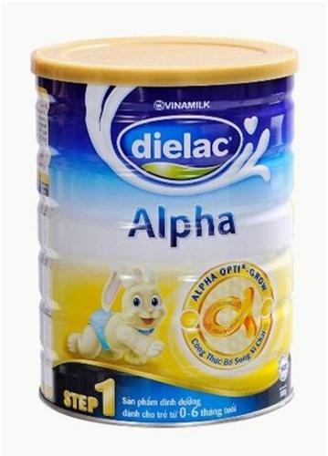 Tỉ lệ các chất dinh dưỡng trong sữa bột Dielac Alpha