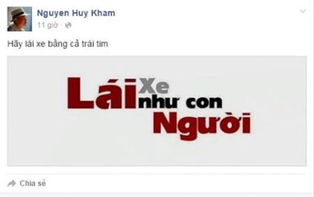 Nguoi dung Facebook dong loat doi anh bia 'lai xe nhu con nguoi' - Anh 8