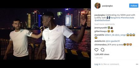 Can canh: Pogba chay thi cung fan tren Van Ly Truong Thanh - Anh 14