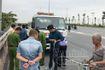 Hà Nội: Xe cứu hộ mất lái tông vào nhóm người tập thể dục ven đường, 2 người tử vong