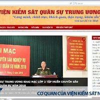 Khai trng Trang thông tin in t Vin kim sát quân s Trung ng