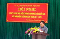 Huyn in Biên: Sc bt t phong trào xây dng nông thôn mi