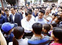 Chủ tịch UBND TP Hà Nội đối thoại với nhân dân Đồng Tâm
