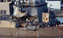 Tàu chiến Mỹ bị đâm vì phớt lờ cảnh báo