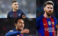 Đội hình dự kiến của Barca mùa giải 2017/2018: 'Vật tế thần' Messi