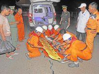 Cứu ngư dân gặp tai nạn gãy tứ chi khi đang đánh bắt