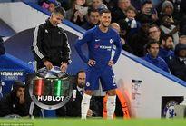 Conte bỏ ngỏ khả năng Hazard đá chính ở trận gặp Arsenal