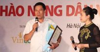 Nhà báo Lê Thọ Bình đã tặng lại 40 triệu cho vua lợn organic