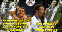 Biếm họa 24h: Messi, Ronaldo thi nhau 'cướp sân khấu' Champions League