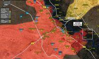 Sputnik: Quân đội Syria vượt sông Euphrates bằng cầu phao