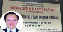 Luận án Tiến sĩ về bìa sách 'gây bão mạng': Viện Văn hóa Nghệ thuật Quốc gia Việt Nam nói gì?