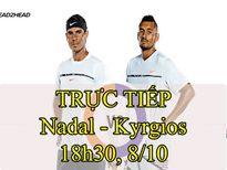 TRỰC TIẾP tennis Nadal - Kyrgios: Vinh quang ở rất gần (Chung kết China Open)