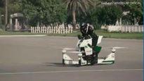 Chiêm ngưỡng xe máy bay tuần tra đường phố của cảnh sát Dubai