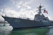 Trung Quốc điều tàu và máy bay đòi đuổi tàu Mỹ ở Biển Đông