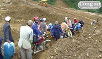 Nguy cơ sạt lở đất tại khu vực miền núi Quảng Nam tăng cao