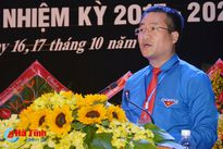 Bí thư Tỉnh đoàn Hà Tĩnh tái đắc cử nhiệm kỳ 2017 - 2022