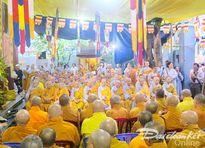 Hàng nghìn người đến cung tiễn Trưởng lão Hòa thượng Thích Trí Tâm