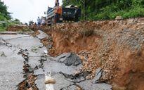 Khắc phục sụt lún trên Quốc lộ 28B nối Bình Thuận với Lâm Đồng