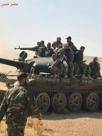 Quân đội Syria nghiền nát IS, quét sạch sa mạc đông Hama
