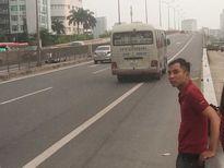 Cục CSGT nói gì về vụ đón khách trên cao tốc