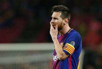 Messi phải uống thuốc chống nôn mửa trong trận Barcelona thắng Olympiakos