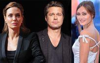 Hậu ly hôn, Brad Pitt 'say nắng' bản sao thời trẻ của Angelina Jolie?