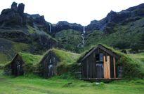 Những ngôi nhà núp dưới mặt đất ở Iceland