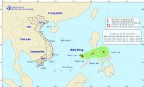 Áp thấp di chuyển hướng Đông Đông Bắc, Hà Nội có nắng