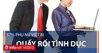 87% phụ nữ Việt bị quấy rối tình dục